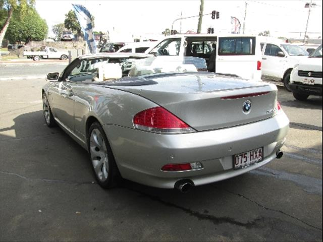2004  BMW 645CI STEPTRONIC E64 CONVERTIBLE