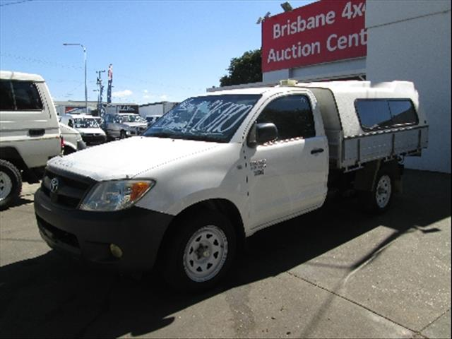 2007  TOYOTA HILUX WORKMATE TGN16R MY07 CAB CHASSIS