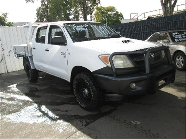 2006  TOYOTA HILUX SR KUN26R MY07 CAB CHASSIS