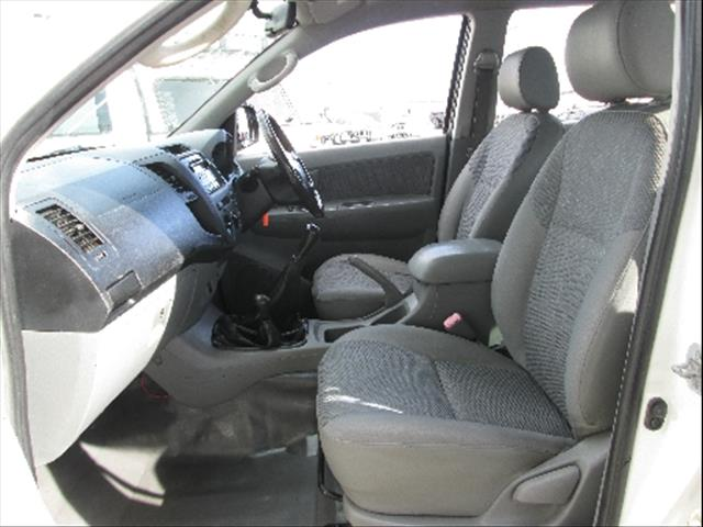 2008  TOYOTA HILUX SR KUN26R MY08 CAB CHASSIS