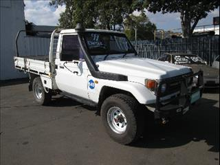 1999  TOYOTA LANDCRUISER SINGLE CAB HZJ75RP CAB CHASSIS
