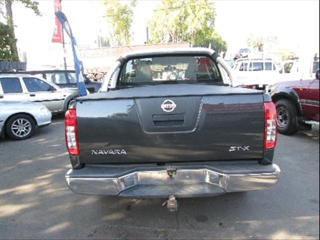 2005  NISSAN NAVARA ST-X D40 UTILITY
