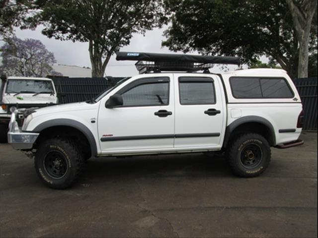 2006  HOLDEN RODEO LX DUAL CAB RA MY06 UTILITY