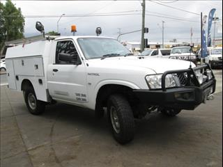 2010  NISSAN PATROL DX SINGLE CAB GU 6 MY10 CAB CHASSIS