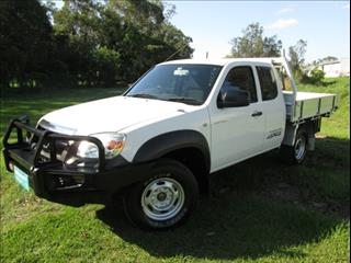 2008  MAZDA BT-50 DX+ EXTENDED CAB UNY0E4 CAB CHASSIS