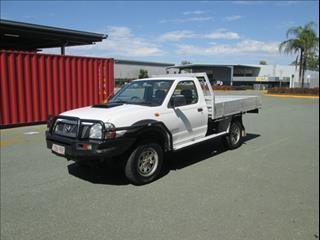 2008  NISSAN NAVARA DX SINGLE CAB D22 MY08 CAB CHASSIS