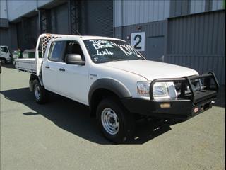 2008  FORD RANGER XL DUAL CAB PJ CAB CHASSIS