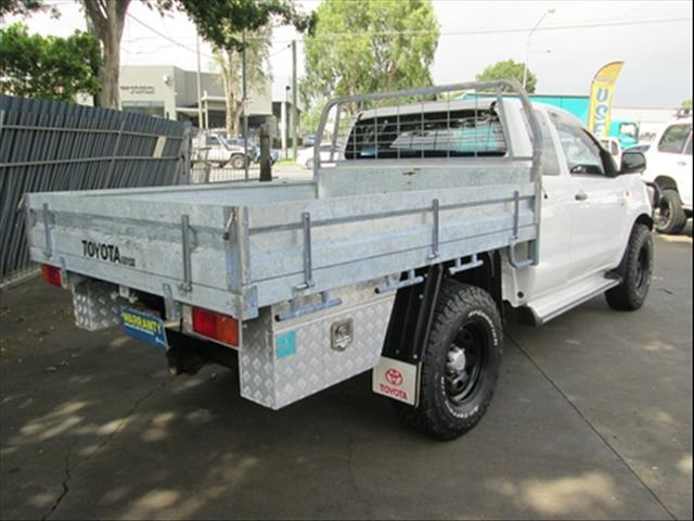 2013  TOYOTA HILUX SR EXTENDED CAB KUN26R MY12 CAB CHASSIS