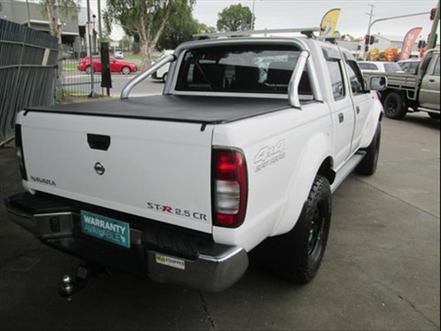 2014  NISSAN NAVARA ST-R DUAL CAB D22 S5 UTILITY