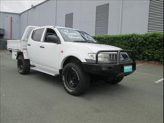 2009  MITSUBISHI TRITON GLX DUAL CAB ML MY09 CAB CHASSIS