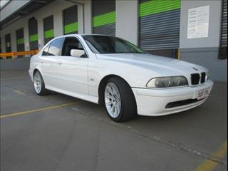 2001  BMW 525I EXECUTIVE STEPTRONIC E39 MY01 SEDAN
