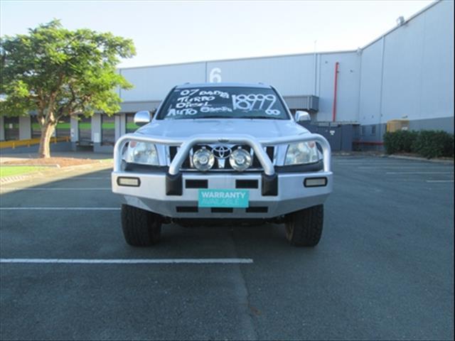 2007  TOYOTA LANDCRUISER PRADO GXL KDJ120R WAGON