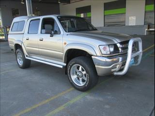 2003  TOYOTA HILUX SR5 DUAL CAB VZN167R MY02 UTILITY