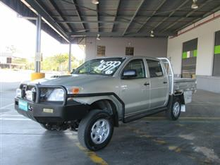 2007  TOYOTA HILUX SR DUAL CAB KUN26R MY07 CAB CHASSIS