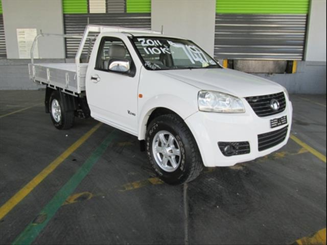 2011  GREAT WALL V240 4X2 K2 CAB CHASSIS