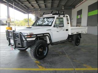 2014  TOYOTA LANDCRUISER WORKMATE SINGLE CAB VDJ79R MY13 CAB CHASSIS