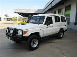 2007  TOYOTA LANDCRUISER WORKMATE TROOPCARRIE VDJ78R WAGON