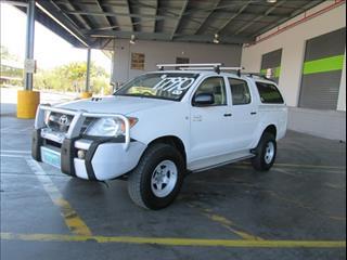 2007  TOYOTA HILUX SR DUAL CAB KUN26R MY07 UTILITY