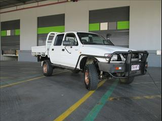 2003  TOYOTA HILUX DUAL CAB KZN165R MY02 CAB CHASSIS