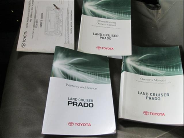 2012  TOYOTA LANDCRUISER PRADO GX KDJ150R WAGON
