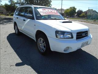 2004 SUBARU FORESTER XT LUXURY MY05 4D WAGON