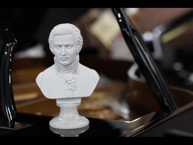 Mozart Bust - 22cm