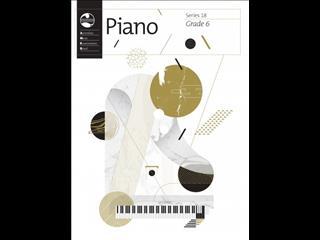AMEB Piano Series 18 Grade Book  Grade 6