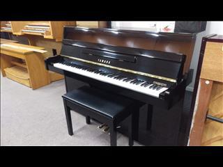 Yamaha C108 Polished Ebony Upright Acoustic Piano