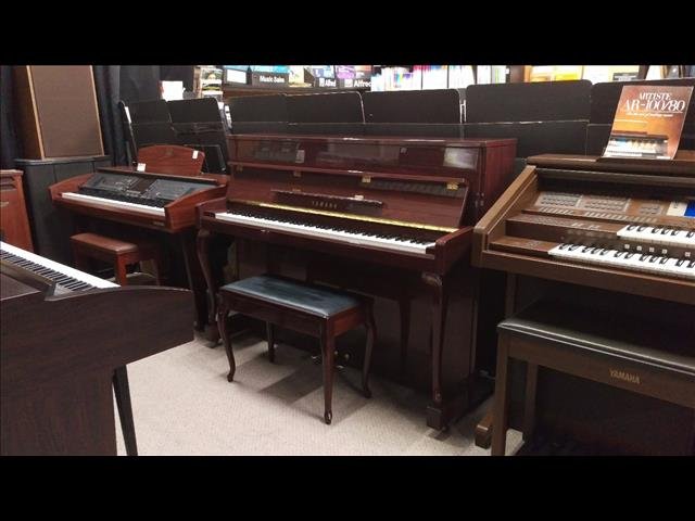 Yamaha Upright Piano ~ Queen Anne cabriole leg design (Purchased New in 2002)