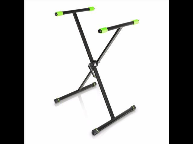 Gravity Stands Single brace X-Frame keyboard Stand