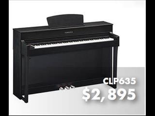 Yamaha Clavinova Digital Piano CLP635 Black