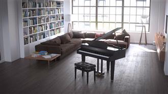 Roland GP607 Digital Grand Piano - Polished Ebony