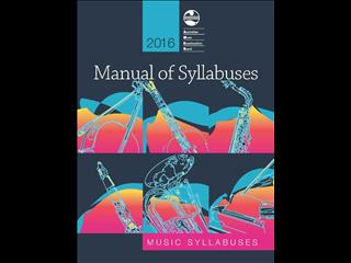 2016 AMEB Manual of Syllabuses