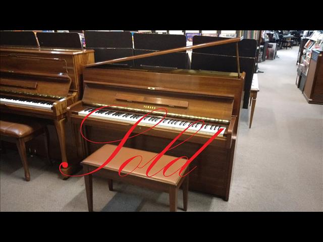 Sold - Yamaha M1A Walnut Semi Upright Acoustic Piano (1976)Serial Number: C 2156473