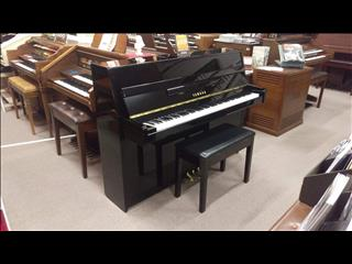 Yamaha JU109 Ebony Polish Upright Acoustic Piano (2013)