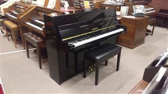 Yamaha JU109 Ebony Polish Upright Acoustic Piano (2013)
