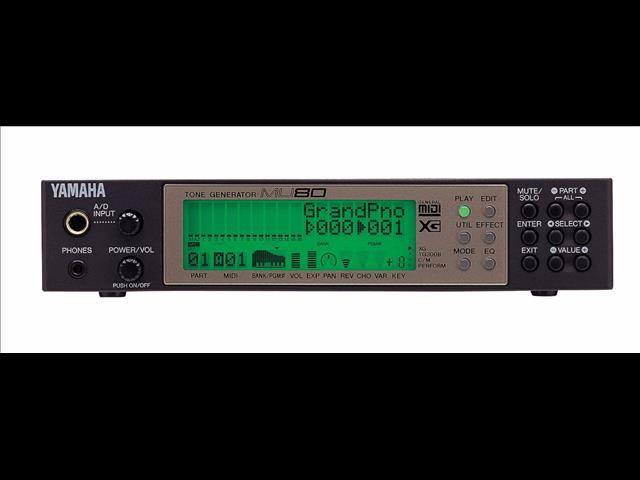 Yamaha MU80 Tone Generator