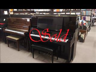 Yamaha ~ 131 cm WX5F Upright Piano Ebony Polished ~ SOLD
