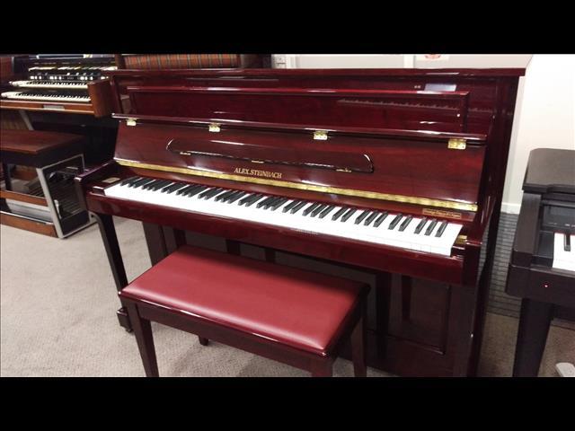 Alex Steinbach  Mahogany Polished Upright Piano Windsor  ~  (JS112)