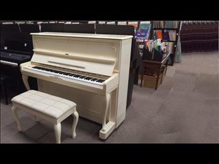 Alex  Steinbach Upright Piano 121 cm SU121 F Ivory Polished 1994 # ILJO1915