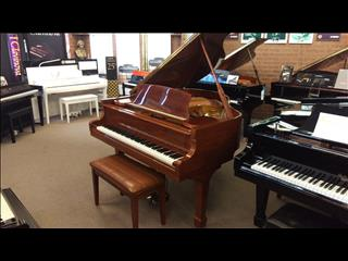 Alex Steinbach SG155 baby Grand Piano in Walnut Polish (Purchased New 1993)