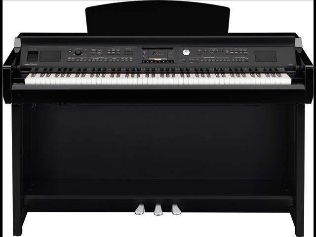 Yamaha Clavinova CVP605PE Digital Piano Polished Ebony Second hand