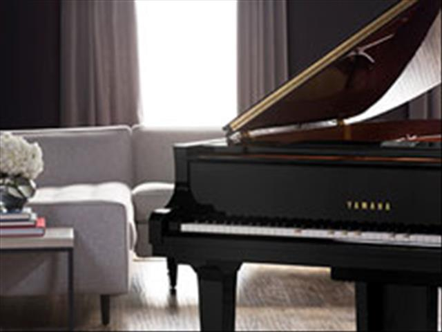 Yamaha Disklavier Enspire Baby Grand Piano GC1M Ebony Polished