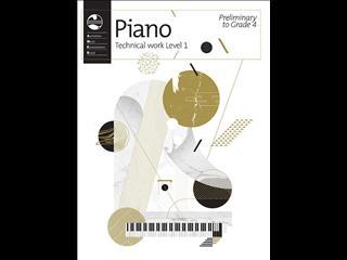 Piano Technical Work: Level 1 (Preliminary to Grade 4) - 2018