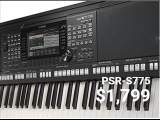 Yamaha Arranger Workstations Keyboard PSR S775