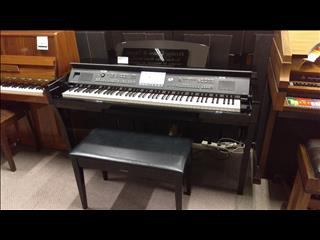 Yamaha CVP609 Clavinova Digital Piano Polished Ebony Second hand