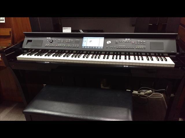 Yamaha CVP609 Clavinova Digital Piano Polished Ebony Second hand