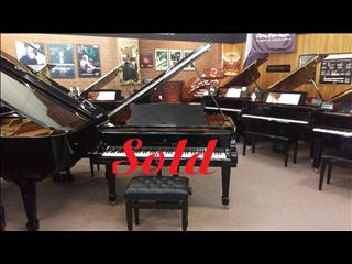 SOLD ~  Steinway model 'A' grand piano