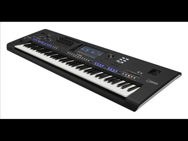 Yamaha Genos 76 Note Digital Workstation Keyboard