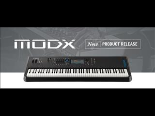 Yamaha Synthesizers MODX8 ~ 88-key graded and weighted